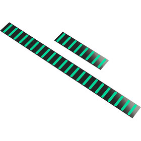 Rapid Racer Products Sticker for ProGuard Standard, black/turquoise